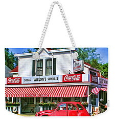 Door County Wilson's Restaurant And Ice Cream Parlor Weekender Tote Bag