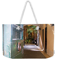 Door In Florence Weekender Tote Bag