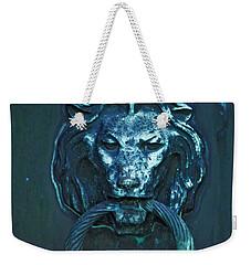 Weekender Tote Bag featuring the photograph Door Knocker by Rowana Ray