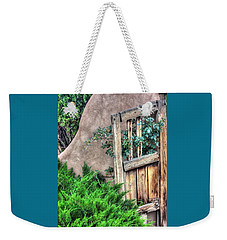 Door, Santuario De Chimayo Weekender Tote Bag by Lanita Williams