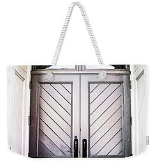 Doorway At Morris Avenue Weekender Tote Bag by Shelby  Young