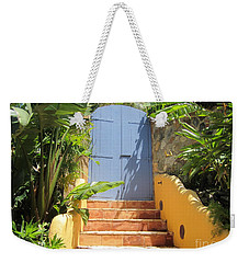 Doorway To Paradise Weekender Tote Bag by Fiona Kennard