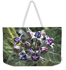 Weekender Tote Bag featuring the photograph Dork Rak by Michelle Meenawong