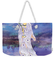 Weekender Tote Bag featuring the photograph Doro Guanyin by Lanjee Chee