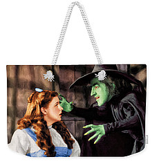 Dorothy And The Wicked Witch Weekender Tote Bag