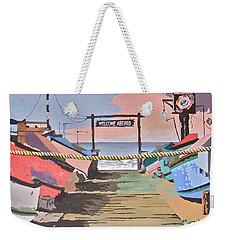 Dory Fishing Fleet -newport Beach Weekender Tote Bag