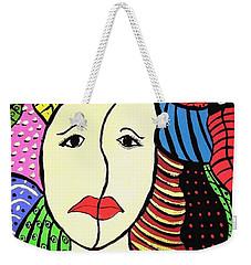 Double Faced  Weekender Tote Bag