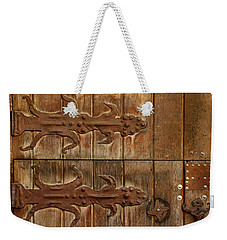 Double Hinges Weekender Tote Bag