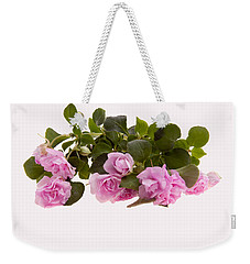 Double Impatiens Weekender Tote Bag