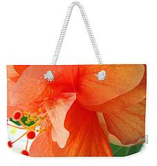 Double Peach Weekender Tote Bag