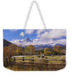 Double Rl Ranch Weekender Tote Bag by Priscilla Burgers