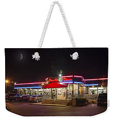 Double T Diner At Night Weekender Tote Bag