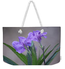 Weekender Tote Bag featuring the photograph Double The Pleasure by Penny Meyers