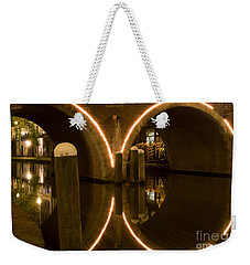 Double Tunnel Weekender Tote Bag