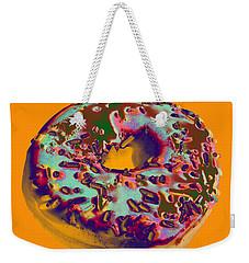 Doughnut Weekender Tote Bag
