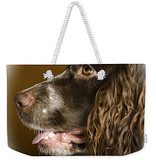 Dougie The Cocker Spaniel 2 Weekender Tote Bag by Linsey Williams