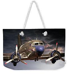 Douglas Dc 3 Weekender Tote Bag