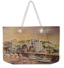 Dover Marina In Uk Weekender Tote Bag
