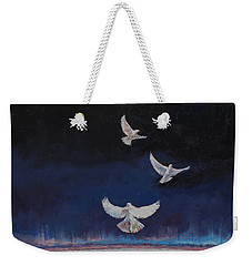 Doves Weekender Tote Bag by Michael Creese
