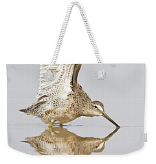 Dowitcher Wing Stretch Weekender Tote Bag