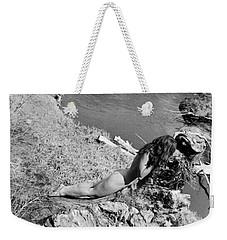 Down By The Water Weekender Tote Bag by Alexandra Louie