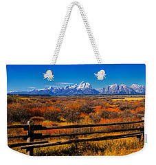 Weekender Tote Bag featuring the photograph Down In The Valley by Greg Norrell