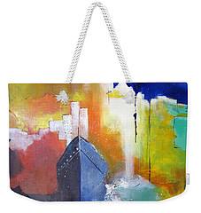 Down The Hudson Weekender Tote Bag