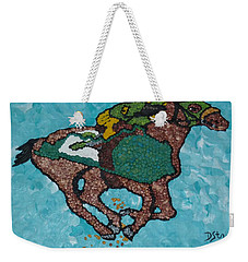 Down The Stretch Weekender Tote Bag