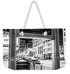 Down To The Red Weekender Tote Bag by Melinda Ledsome