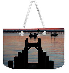 Down To The Sunset Sea Weekender Tote Bag
