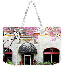 Weekender Tote Bag featuring the photograph Downtown by Athala Carole Bruckner