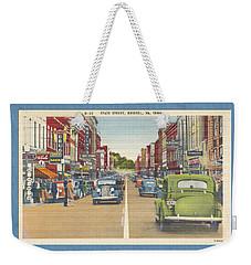 Downtown Bristol Va Tn 1930 - 40 Weekender Tote Bag