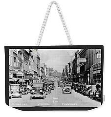 Downtown Bristol Va Tn 1931 Weekender Tote Bag
