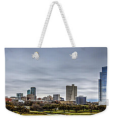 Downtown Fort Worth Trinity Trail Weekender Tote Bag