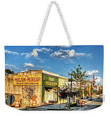 Downtown Milan Weekender Tote Bag
