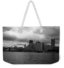 Downtown Pittsburgh Weekender Tote Bag