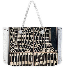 Downtown Reflection Weekender Tote Bag