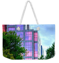 Downtown Reflections 17341 Weekender Tote Bag