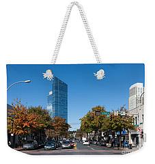 Downtown White Plains New York IIi Weekender Tote Bag