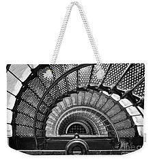 Downward Spiral Bw Weekender Tote Bag
