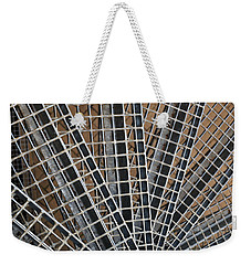 Weekender Tote Bag featuring the photograph Downward Spiral by Wendy Wilton