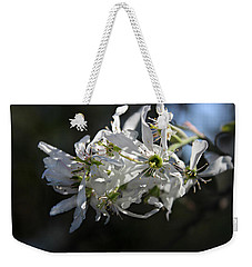 Downy Serviceberry Weekender Tote Bag