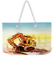 Dozer October Weekender Tote Bag