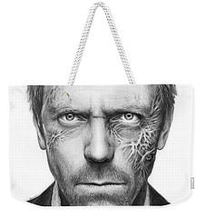 Dr. Gregory House - House Md Weekender Tote Bag by Olga Shvartsur