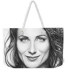 Dr. Lisa Cuddy - House Md Weekender Tote Bag by Olga Shvartsur