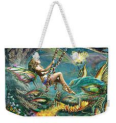 Dragon And Fairy Swing Weekender Tote Bag