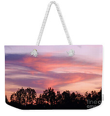 Weekender Tote Bag featuring the photograph Dragon Clouds by Meghan at FireBonnet Art