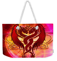 Dragon Duel Series 15 Weekender Tote Bag