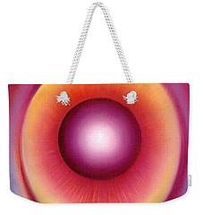 Dragon Eye Weekender Tote Bag by Anna Ewa Miarczynska