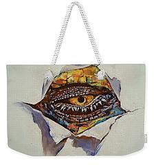 Dragon Eye Weekender Tote Bag